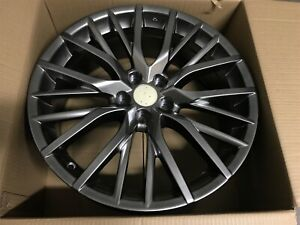 18 Hyper Dark Rx Fsport Style Rims Wheels Fits Lexus Rx330 Rx350 5x114 3