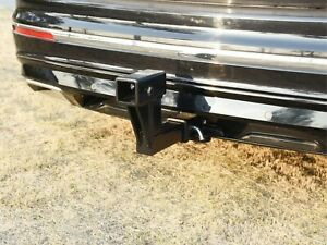 Toptow Trailer 2 Dual Hitch Receiver Extender For 6 25 Rise Drop Solid Shank