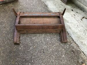 1928 1929 1930 Model A Ford Subframe Closed Cab Pickup Truck Frame Body 29 28 2