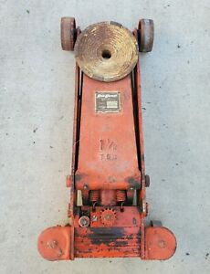 Hein Werner Model Ws Oboy Floor Jack Made In The Usa 1 1 2 Ton Capacity
