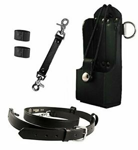 Boston Leather Bundle Three Items Anti sway Strap For Radio Strap