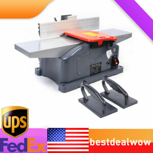 10 amp 6 inch High speed Steel Mini Benchtop Jointer Woodworking Cutting Machine
