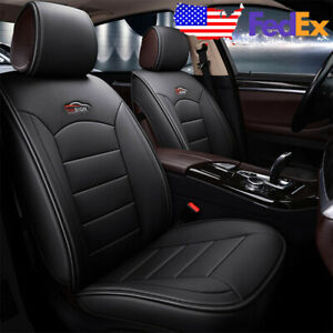 Black Car Auto 5 seat Microfiber Leather Seat Covers For Mazda 3 6 Cx 5 Cx 7