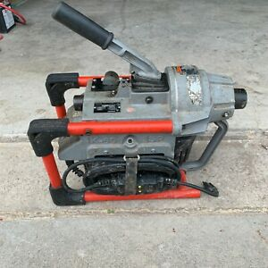 Ridgid K 60 Sp Compact Sectional Drain Cleaning Machine