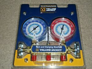Yellow Jacket 42005 Series 41 Manifold W 31 8 Gauges r22 r134a 404a Free Ship
