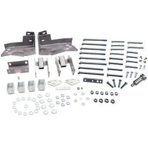 3 Body Lift Kit Brackets For Chevrolet Silverado 1500 Base Ls Crew 2007 2013
