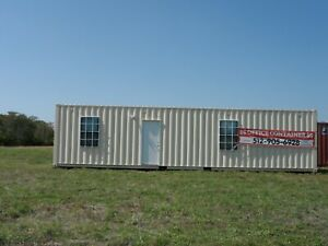 Brand New 40 Portable Container Office With Restroom New Reduced Price