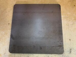 1 8 Rounded Corners Steel Plate Rectangle 5 X 8 A36 Steel 125 Thick