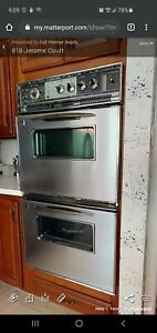 Vintage Ge Electric Double Wall Oven