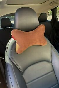Coffee Memory Foam Car Auto Seat Head Rest Support Pillow Neck Pain Relief Cushi