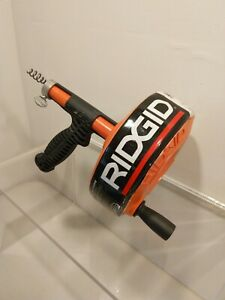 Cleaning Clog Plumbing Snake Auger Drain Opener Cleaner Tool Ridgid