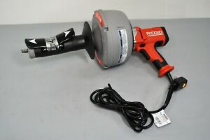 Ridgid K 45af Autofeed Sink Drain Cleaning Machine W C 1 5 16 35473 Plumbing