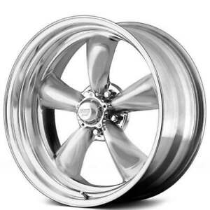 4 20 Staggered American Racing Wheels Vn515 Classic Torq Thrust2 Polished B44