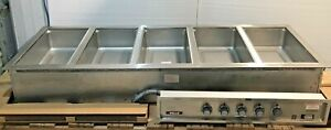 Wells model 500tdm 5 Full Size Stainless Pan Built in Hot Food Warmer New Crated