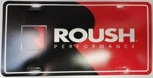 Roush Performance Dealer Plate Hard To Find Collector Item New Never Mounted