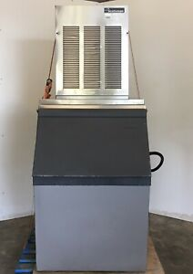 Scotsman Ice Machine Nme654a 1b 700lb Unit Self Contained Free Ice Bin Optional
