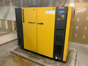 2013 Kaiser Sfc37t 50hp Variable Speed Screw Air Compressor With Dryer