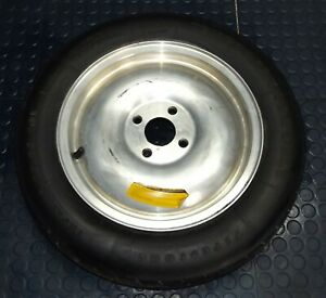 Mustang 15x4 4 Lug Aluminum Fox Body Spare Wheel Tire Factory Oem 87 93