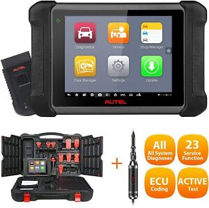 Autel Maxisys Ms906bt Obd2 Scan Tool With Ecu Coding Auto Scan Bi directional