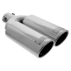 Dc Sports Universal Bolt on Dual Exhaust Tip Inlet 2 375 Outlet 3 75 x3