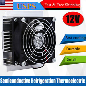 12v 6a Thermoelectric Peltier Refrigeration Cooling System Kit Cooler Module Hot