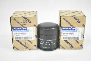 Komatsu 3eb 15 41510 Forklift Transmission Filters Lot Of 2 Filters
