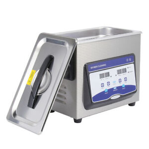 4 5l Digital Ultrasonic Cleaner Heated Timer Industry Jewelry Cleaning Machine