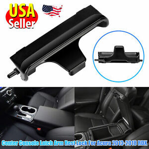 For 2013 2018 Acura Rdx Oem Replace Center Console Lid Latch Armrest Lock Black