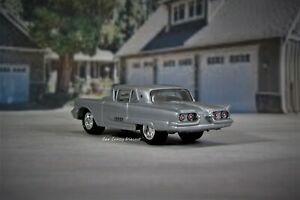 1958 1960 Ford Thunderbird T bird Coupe Collectible Display Model 1 64