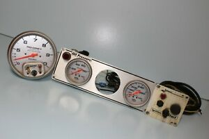Auto Meter Pro Comp 2 Tach W Oil Gauges Ignition Panel Hardware Scta Scca