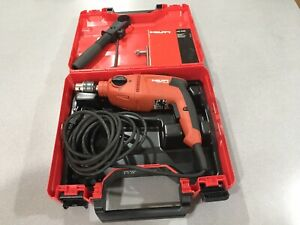 Hilti Uh 700 Corded Power 1 2 Hammer Drill With Case Excellent Condition