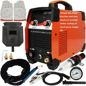 Longer Life By Gas Delay Inverter Non Touch Hf Plasma Cutter Sg55 Torch 110v 45a