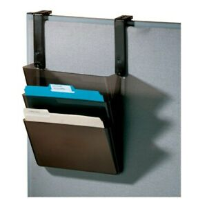 Office Depot Brand Plastic Letter size Hanging 3 pocket Wall File 8 1 2 X 13