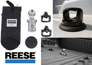 Reese Elite 30137 Pop In Ball Kit For Under Bed Gooseneck New Free Shipping Usa