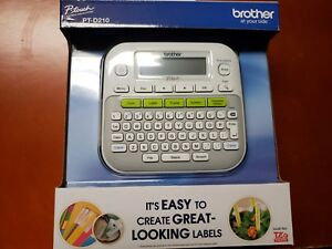 Brother P touch Pt d210 Label Maker Compact Printer New In Box