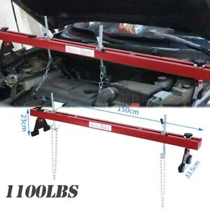 1100lbs Engine Load Leveler Capacity Support Bar Transmission With Dual Hook Usa