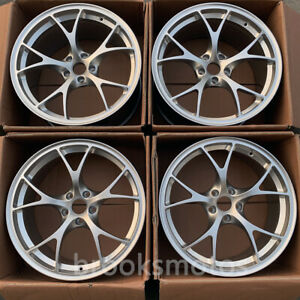 For Alfa Romeo Giulia Qv 20 Staggered Wheels Rims 20x8 5 20x10 5 Hyper Silver