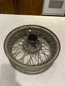 48 Spoke Wire Wheel 15 X 4 For Mga Triumph