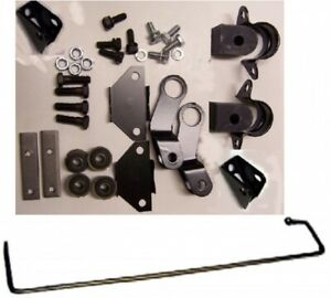 Corvette 1965 1967 Sway Bar Kit Rear 9 16 Inch With Mounting Hardware