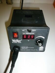 Weller Ec2001 Esd Soldering Station Power Unit Only Very Good Condition