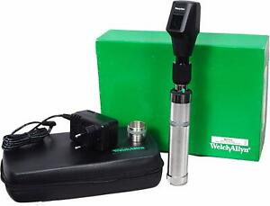 Welch Allyn 3 5v Halogen Hpx Streak Retinoscope With Rechargeable Battery Handle