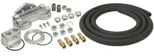 Derale Dual Mount Oil Filter Relocation Kit 15749