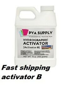 Activator B Water Transfer Dipping Hydrographic Hydro Fast Ship 16oz Us Ready