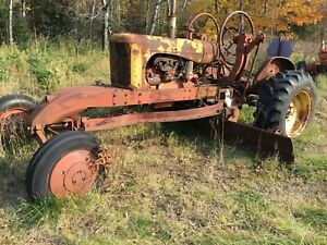 Allis Chalmers Wc Speed Patrol Rare Antique Tractor