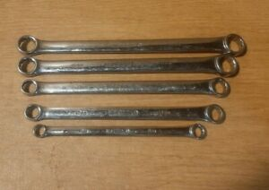 Matco Tools 5 Pc Double Box Wrench Set Srbl52t 12 Point 10 19mm