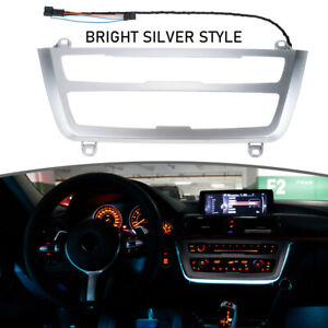 Pearl Chrome A C Panel Ambient Led Light For Bmw 4 Series F32 F33 F36 2013 2020