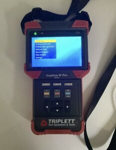 Triplett 8070 Camview Ip Pro Camera Tester With Built in Dhcp Server