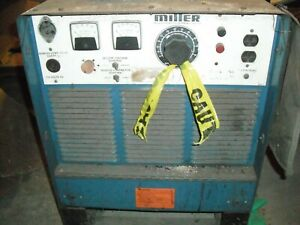 Miller 3 Phase Welder used cord Has Been Cut constant Potential Dc Arc Welding