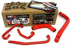 Hps Red Reinforced Silicone Radiator Heater Hose Kit For Toyota 99 03 Tundra 4