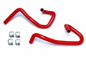 Hps Reinforced Red Silicone Heater Hose Kit Coolant For Toyota 05 18 Tacoma 2 7l